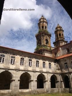 monasterio cisterciense desde el interior
